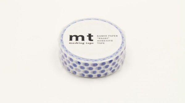 画像1: mt-マスキング/361(ドット・ナイトブルー) (1)