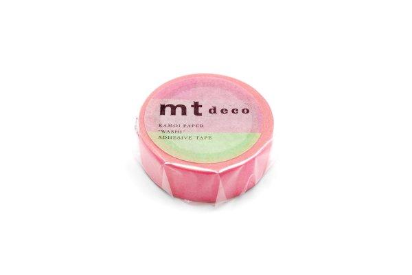 画像1: mt-マスキング- 459(蛍光グラデーション・ピンク×グリーン) (1)